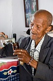 Santiago : São Miguel : white rum production : People Elderly