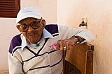 São Vicente : Mindelo : portrait : People Elderly
